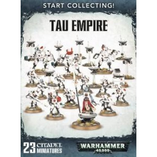START COLLECTING! TAU EMPIRE DHC