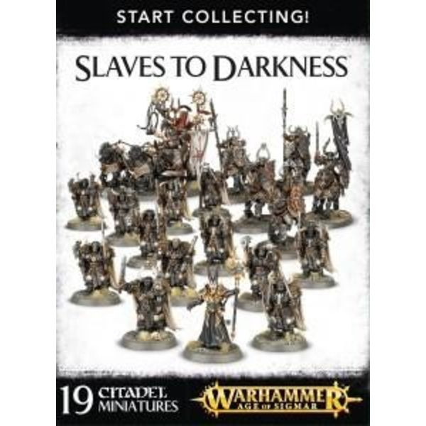 START COLLECTING! SLAVES TO DARKNESS DHC
