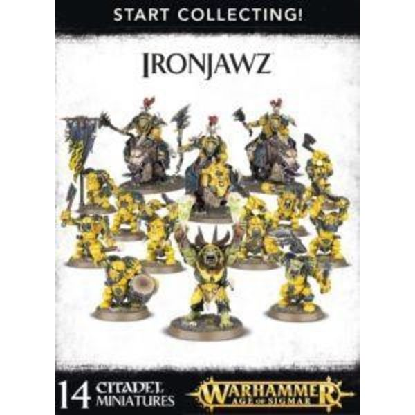 START COLLECTING! IRONJAWZ DHC