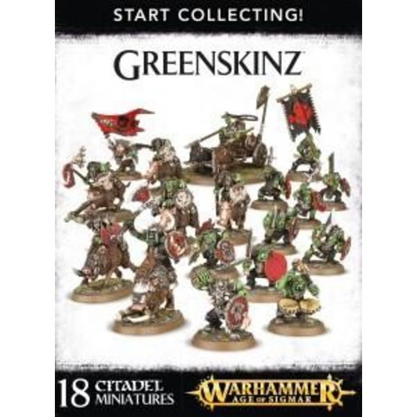 START COLLECTING! GREENSKINZ DHC