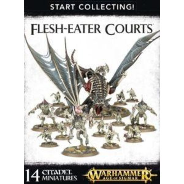 START COLLECTING! FLESH EATER COURTS