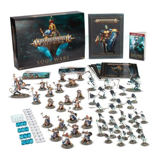 AGE OF SIGMAR SOUL WARS  (Additional S&H Fee Applies) DHC