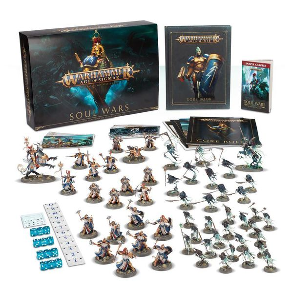 AGE OF SIGMAR SOUL WARS  (Additional S&H Fee Applies)