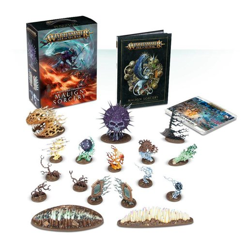 AGE OF SIGMAR MALIGN SORCERY DHC