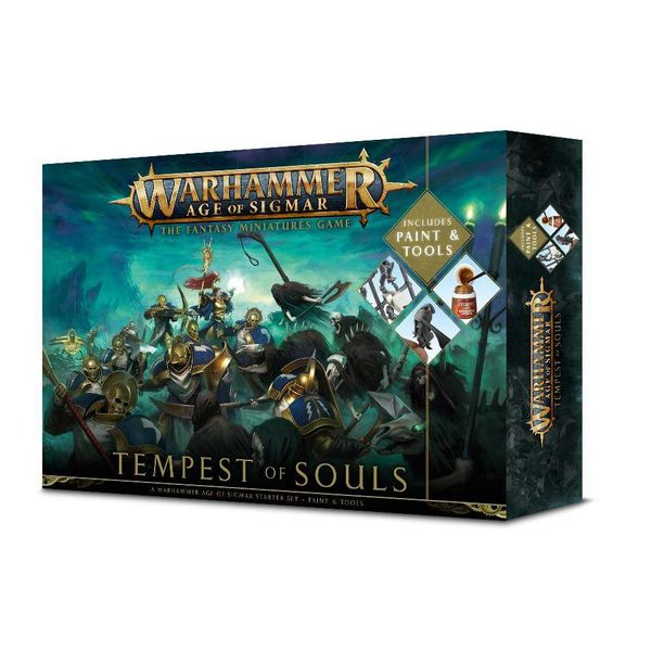 AGE OF SIGMAR TEMPEST OF SOULS + PAINT  (Additional S&H Fee Applies) DHC