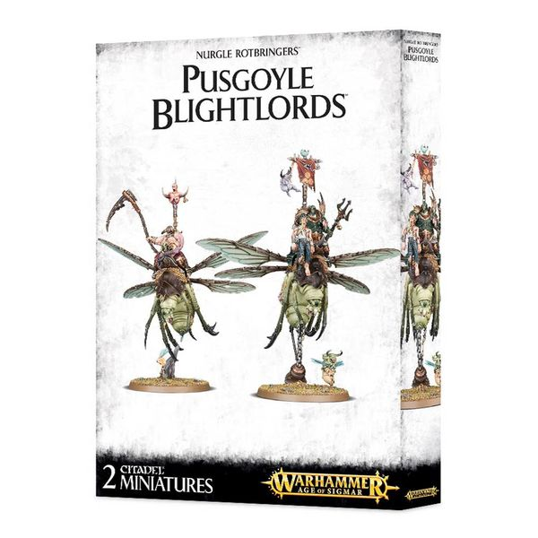 DAEMONS OF NURGLE PUSGOYLE BLIGHTLORDS DHC
