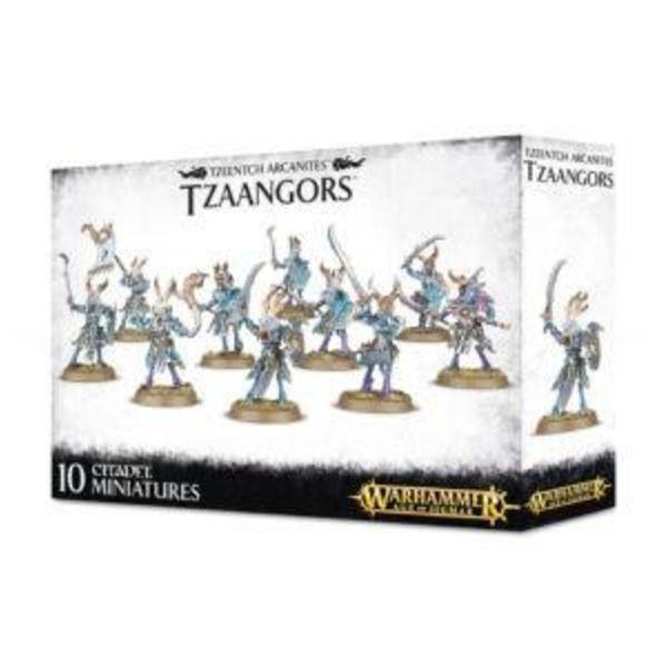 DAEMONS OF TZEENTCH TZAANGORS