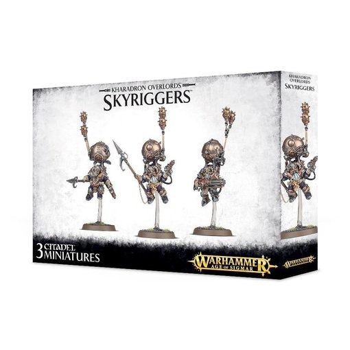 KHARADRON OVERLORDS SKYRIGGERS / SKYWARDENS / Endrinriggers