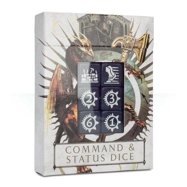 AGE OF SIGMAR COMMAND & STATUS DICE
