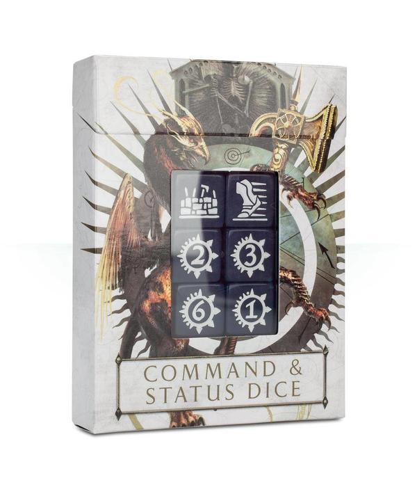 AGE OF SIGMAR COMMAND & STATUS DICE DHC