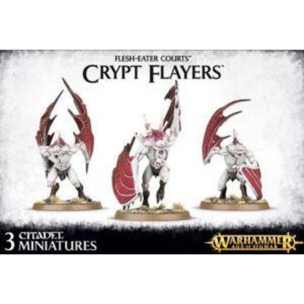 FLESH EATER COURTS CRYPT FLAYERS / HORRORS / VARGHEISTS / Crypt Haunter / Infernal Courtier