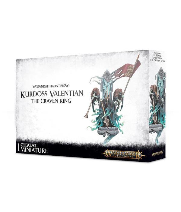 NIGHTHAUNT KURDOSS VALENTIAN THE CRAVEN KING DHC