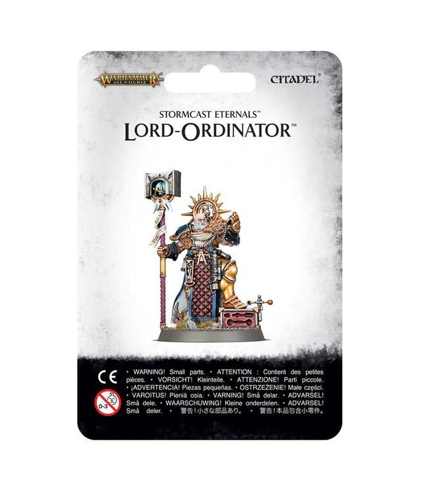 STORMCAST ETERNALS LORD ORDINATOR WITH ASTRAL GRANDHAMMER