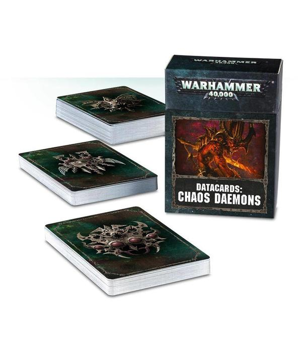 DATACARDS CHAOS DAEMONS DHC