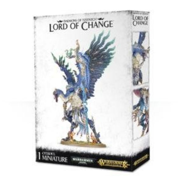 DAEMONS OF TZEENTCH LORD OF CHANGE DHC