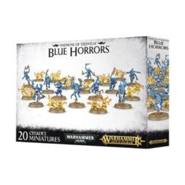 DAEMONS OF TZEENTCH BLUE HORRORS DHC
