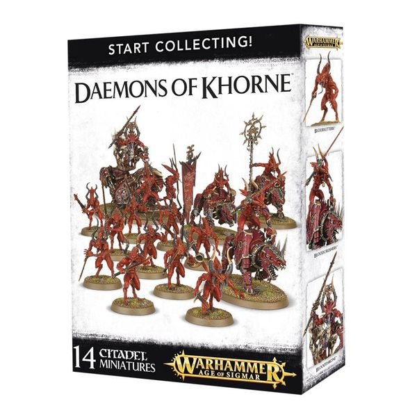 START COLLECTING! DAEMONS OF KHORNE DHC