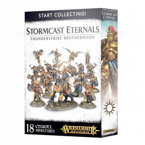 START COLLECTING! ETERNALS THUNDERSTRIKE BROTHERHOOD DHC