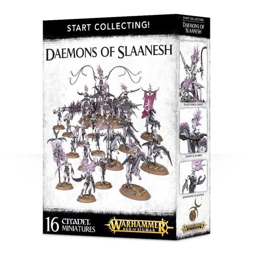 START COLLECTING! DAEMONS OF SLAANESH DHC