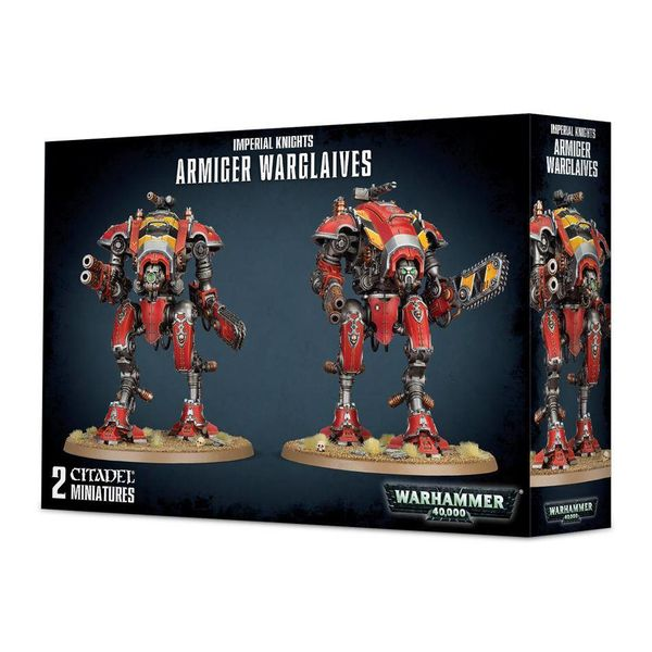 IMPERIAL KNIGHTS ARMIGER WARGLAIVES DHC