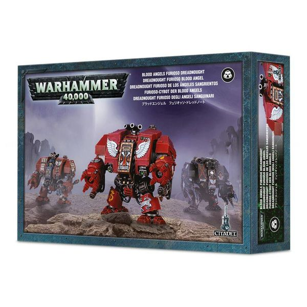 BLOOD ANGELS FURIOSO / DEATH COMPANY / LIBRARIAN DREADNOUGHT DHC