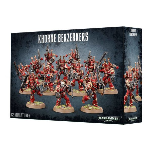 CHAOS SPACE MARINES KHORNE BERZERKERS DHC