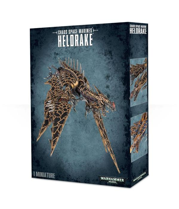 CHAOS SPACE MARINES HELDRAKE SPECIAL ORDER DHC