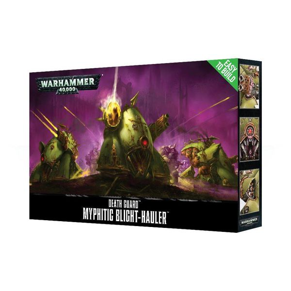 DEATH GUARD EASY TO BUILD ETB MYPHITIC BLIGHT HAULER DHC