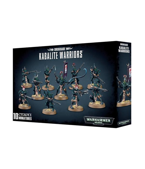 DARK ELDAR DRUKHARI KABALITE WARRIORS DHC