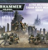 ASTRA MILITARUM CADIAN HEAVY WEAPON SQUAD DHC
