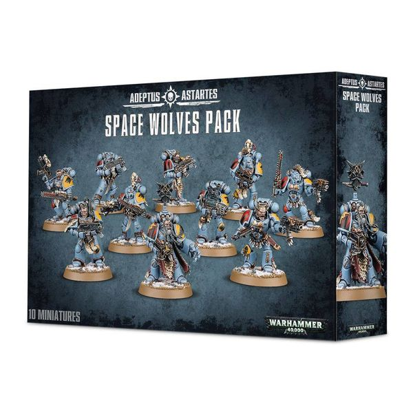 SPACE WOLVES PACK / GREY HUNTERS