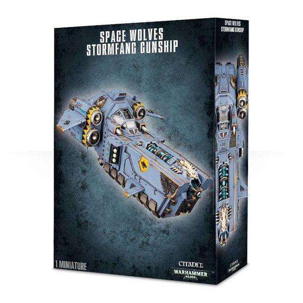 SPACE WOLVES STORMFANG GUNSHIP DHC