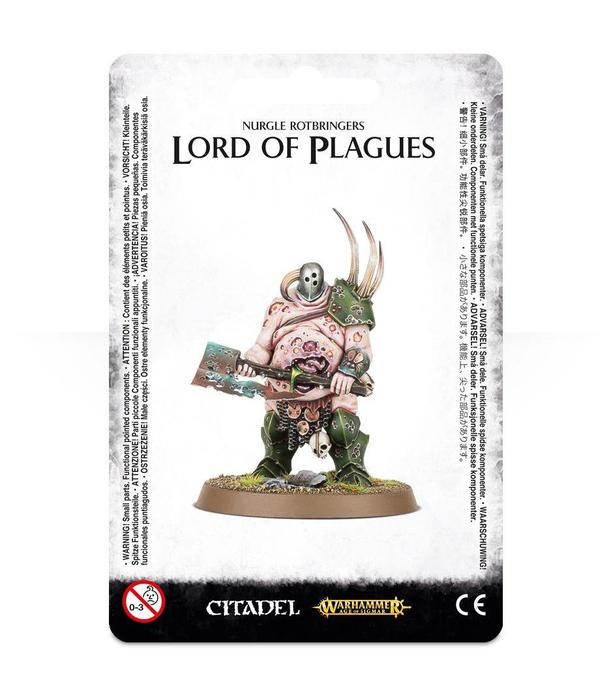 DAEMONS OF NURGLE LORD OF PLAGUES