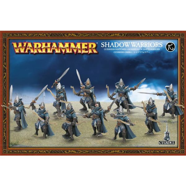 AELVES HIGH ELVES SHADOW WARRIORS