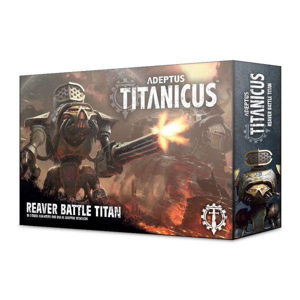 ADEPTUS TITANICUS REAVER BATTLE TITAN DHC