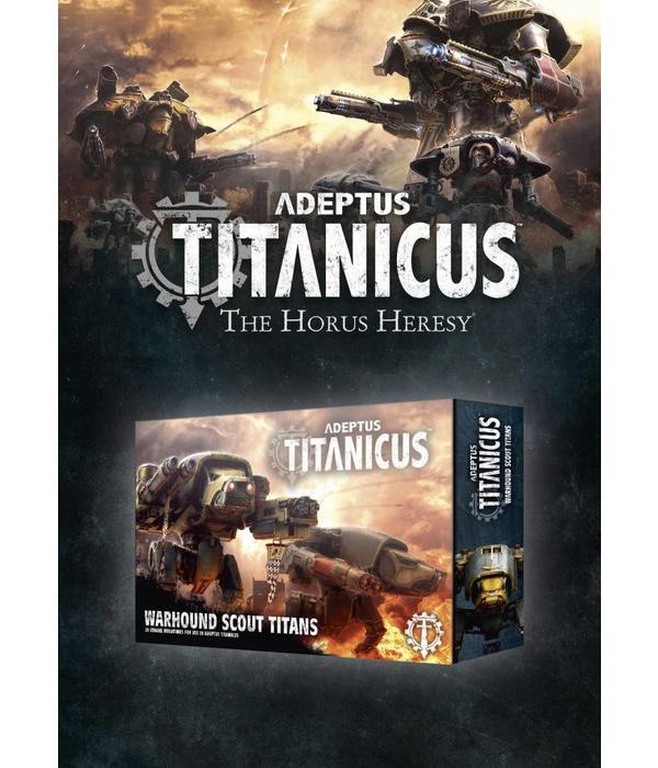 ADEPTUS TITANICUS WARHOUND SCOUT TITAN DHC