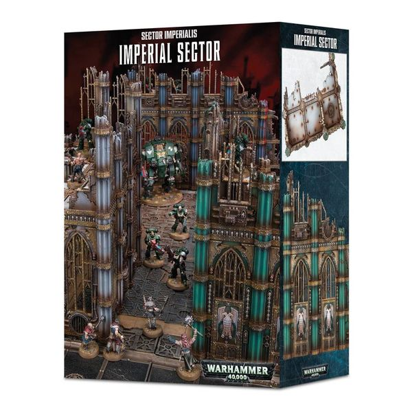 40K TERRAIN SECTOR IMPERIALIS IMPERIAL SECTOR  (Additional S&H Fee Applies)