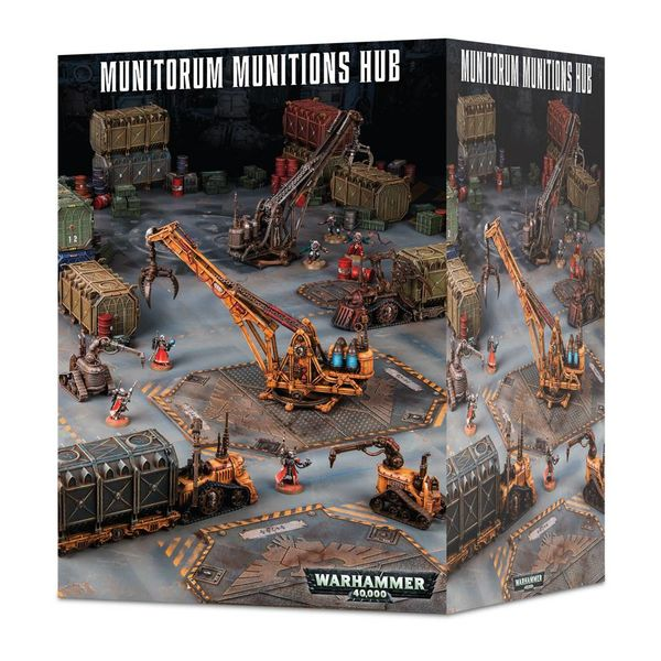 40K TERRAIN MUNITORUM MUNITIONS HUB (Additional Shipping Applies)