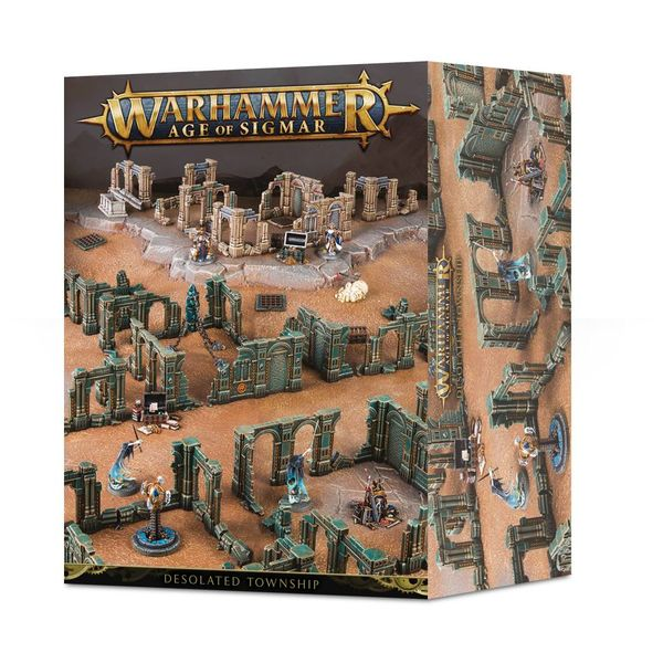 Age of Sigmar Terrain DESOLATED TOWNSHIP
