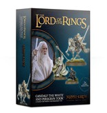 LORD OF THE RINGS GANDALF THE WHITE & PEREGRIN TOOK