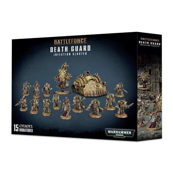 DEATH GUARD INFECTION CLUSTER BATTLEFORCE ($2 Additional Shipping Applies) SPECIAL ORDER