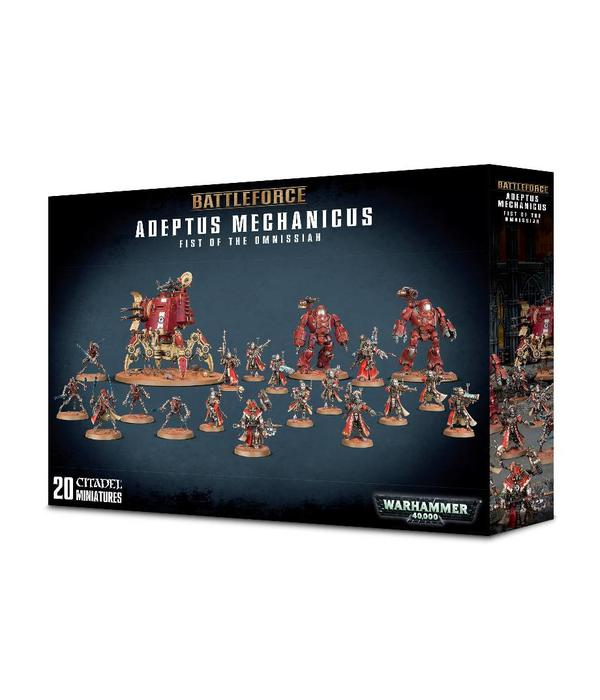 ADEPTUS MECHANICUS FIST OF THE OMNISSIAH BATTLEFORCE (Additional Shipping Applies) SPECIAL ORDER