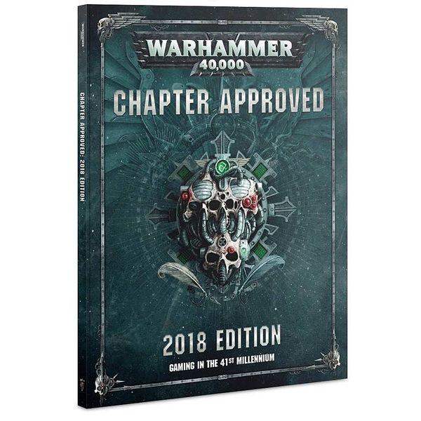 WARHAMMER 40K CHAPTER APPROVED 2018 PRE-ORDER