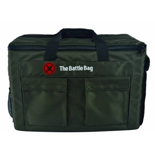 The Battle Bag - Army Carrying Case - Olive Green (Additional Shipping May Apply)