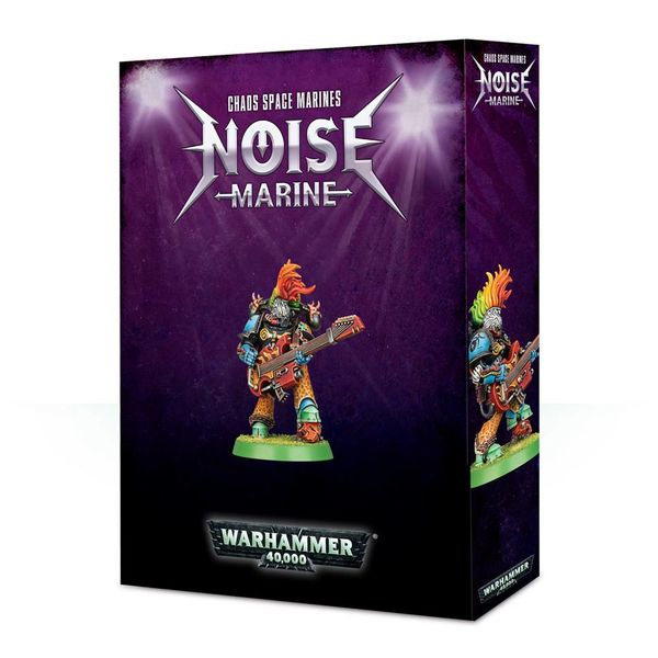 CHAOS SPACE MARINES NOISE MARINE DHC