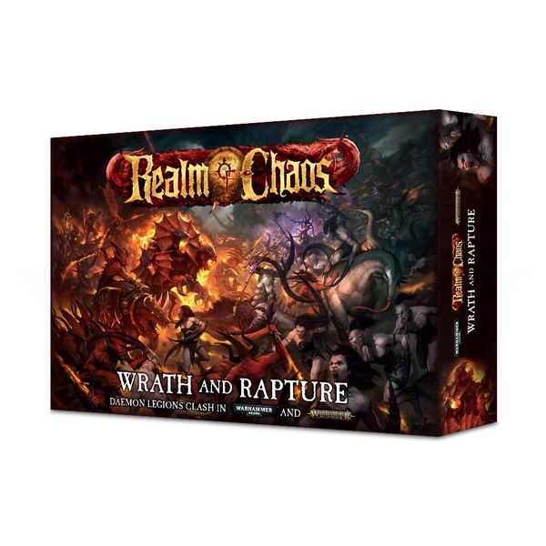 WARHAMMER 40000 REALM OF CHAOS WRATH & RAPTURE ($4 Additional Shipping Applies)