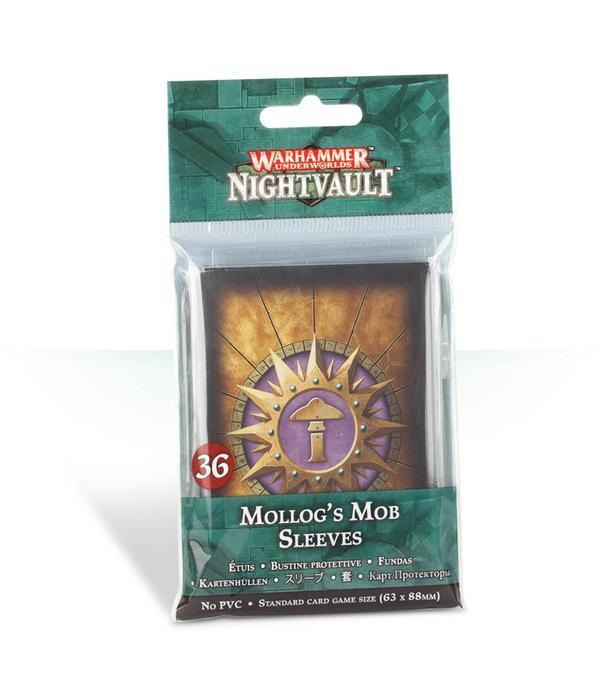 WARHAMMER UNDERWORLDS  MOLLOGS MOB CARD SLEEVES