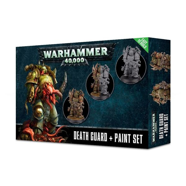 CITADEL DEATH GUARD PAINT SET 2019
