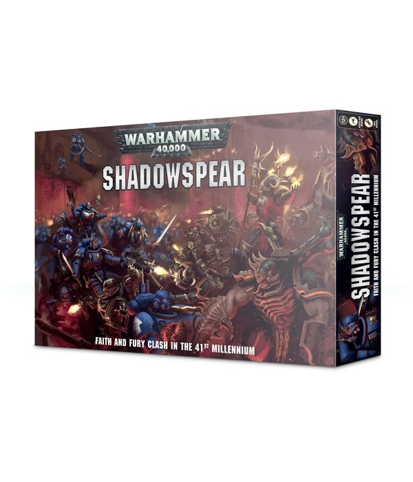 WARHAMMER 40k SHADOWSPEAR (Additional $3 S&H Fee Applies)