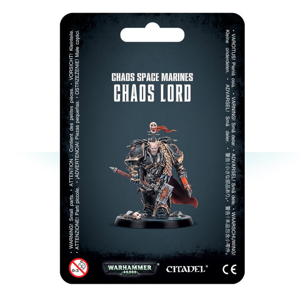 CHAOS SPACE MARINES CHAOS LORD 2019